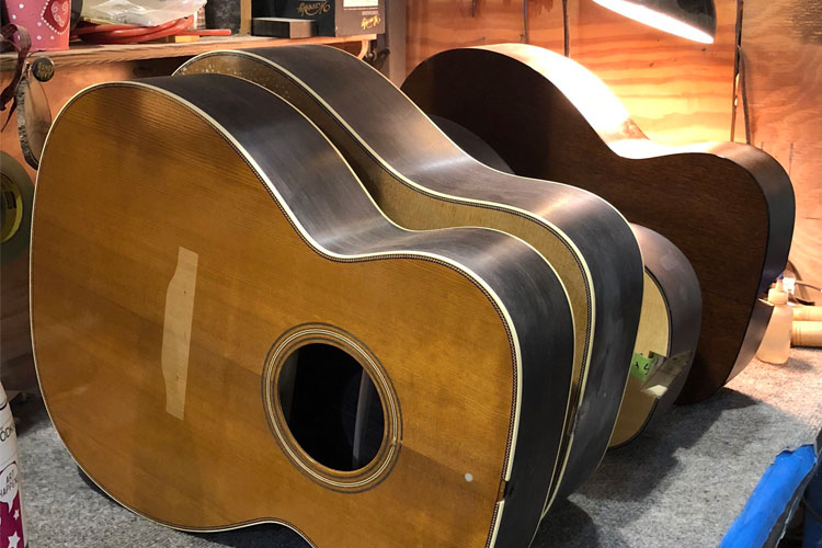 A Friday Afternoon Visit to the Collings Shop