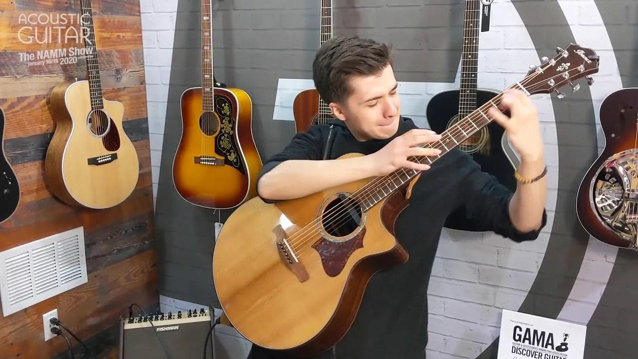 Watch Marcin Patrzalek's Fingerstyle Arrangement of Beethoven's 5th at Winter NAMM 2020