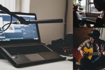 virtual jamming acoustic guitar