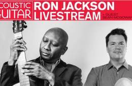 ron jackson sean mcgowan acoustic guitar fb live takeover