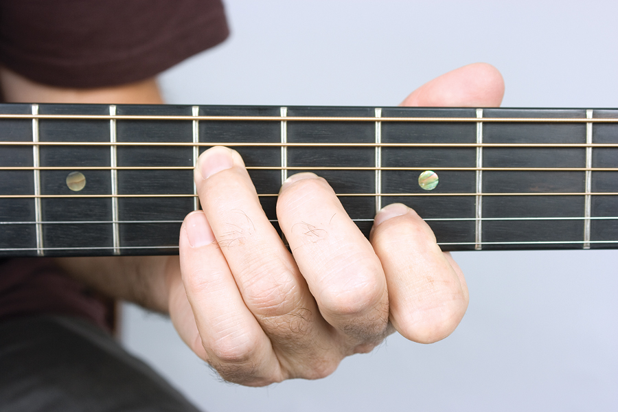 how to get good acoustic guitar tone, fret ends