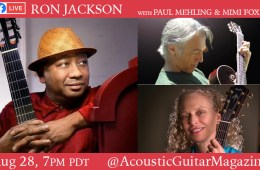 ron jackson acoustic guitar FB live Aug. 28