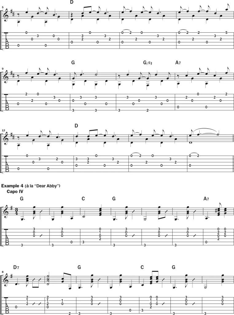 john prine acoustic guitar lesson notation sheet 2