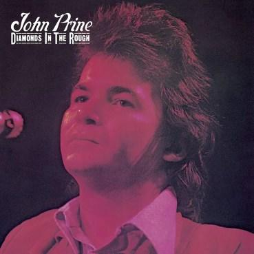 "John Prine ""Diamonds in the Rough"" album cover"