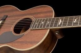 PRS SE P20E guitar in Vintage Natural finish
