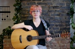 Acoustic Guitar Chord by Chord B Minor Lesson kate koenig