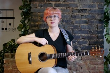 Acoustic Guitar Chord by Chord B Minor Lesson kate koenig