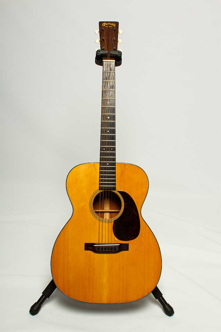 1943 Martin 000-18 Orchestra acoustic guitar