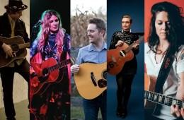 Nasvhille Guitarists Aaron Lee Tasjan, Elizabeth Cook, Jake Workman, Lillie Mae, Lilly Hiatt