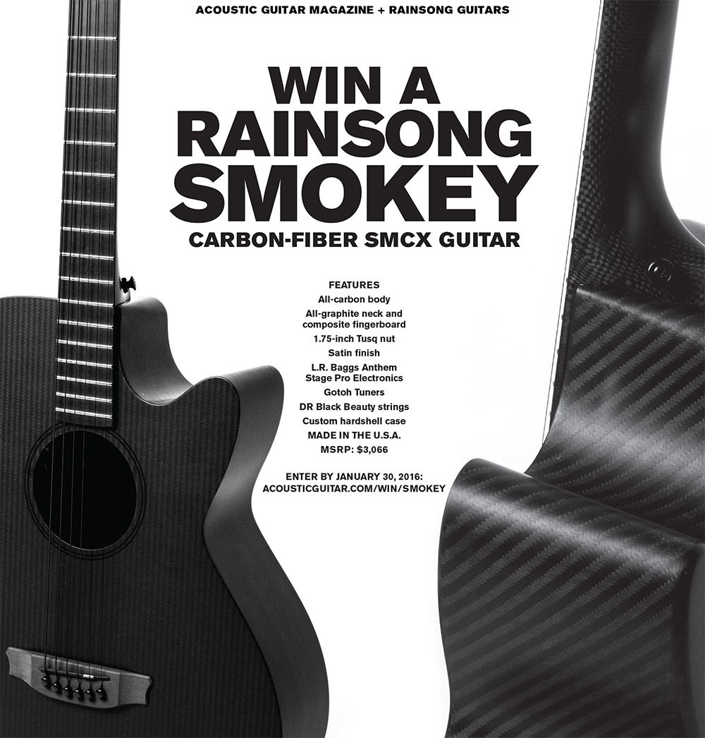 Rainsong Smokey Guitar Giveaway