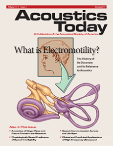 Past Issues 2010 – 2019 | Acoustics Today