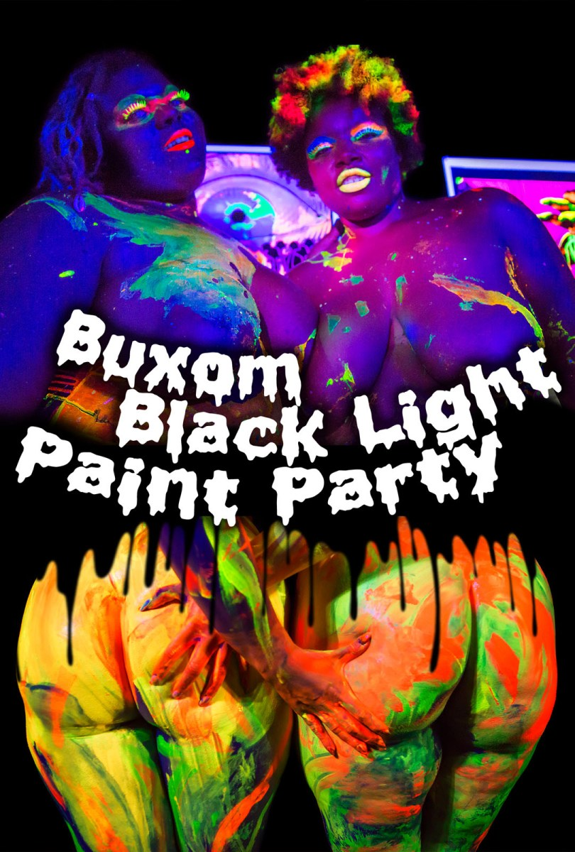 Buxom Black Light Paint Party – Atomic Cheesecake Productions