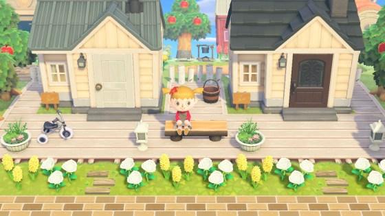 Light Wood Deck Set - Animal Crossing Pattern Gallery ... on Animal Crossing New Horizons Wood Design  id=85724