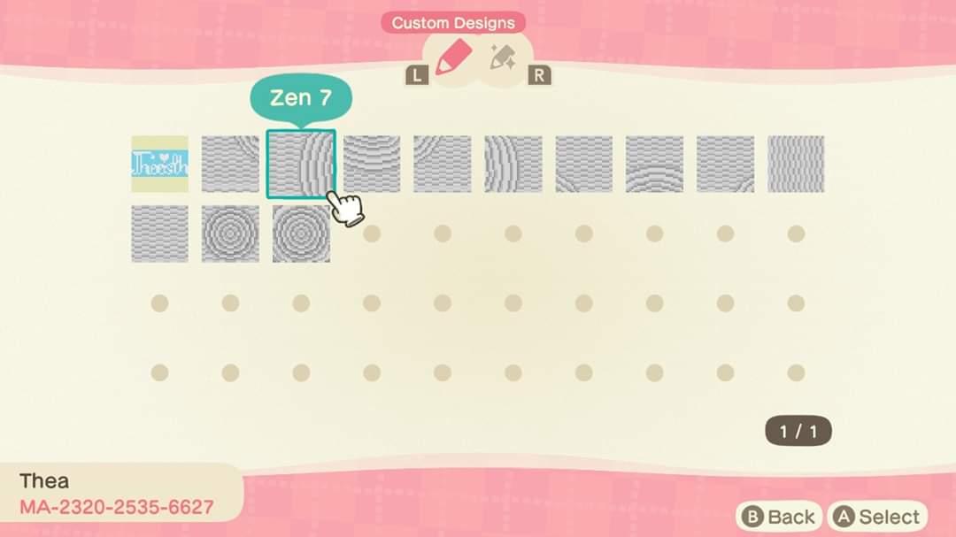 Zen Garden White Sand - Animal Crossing Pattern Gallery ...