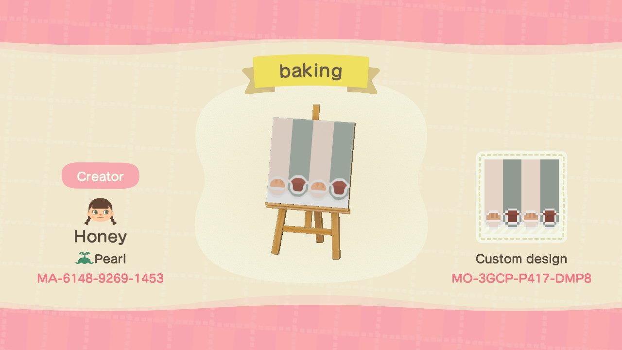 Bakery Stall Pattern Animal Crossing Pattern Gallery Custom Designs
