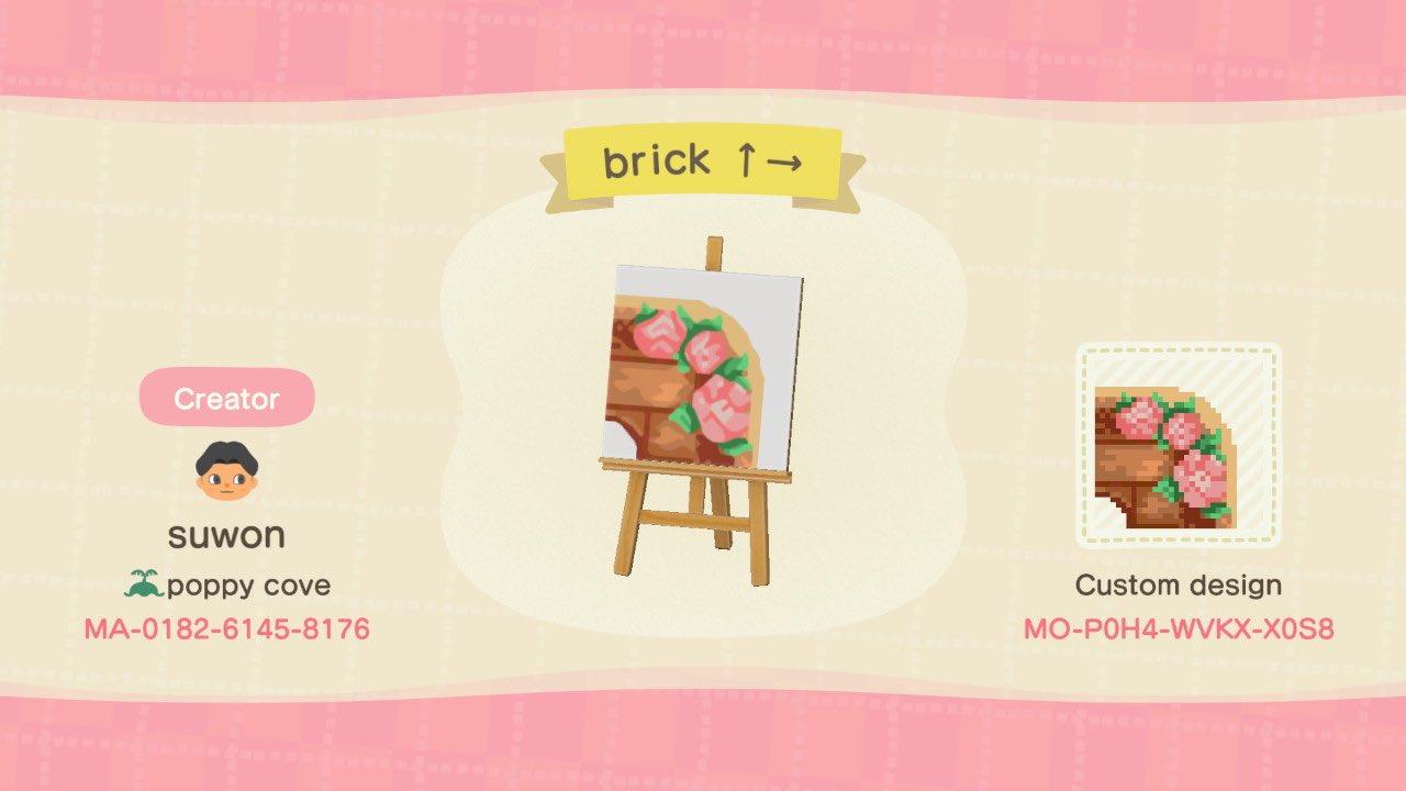 Brick Path Set Animal Crossing Pattern Gallery Custom Designs