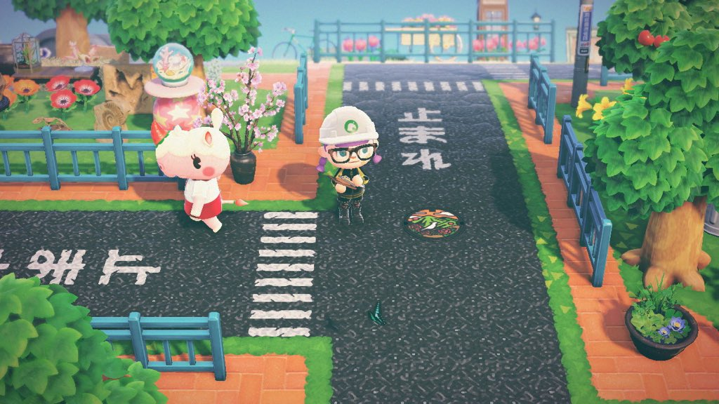 Japanese Street Pattern Set Animal Crossing Pattern Gallery Custom Designs