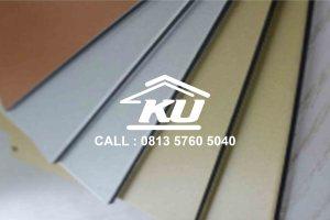 Aluminium composit panel Merk JIYU Harga Murah Ready Stock Surabaya