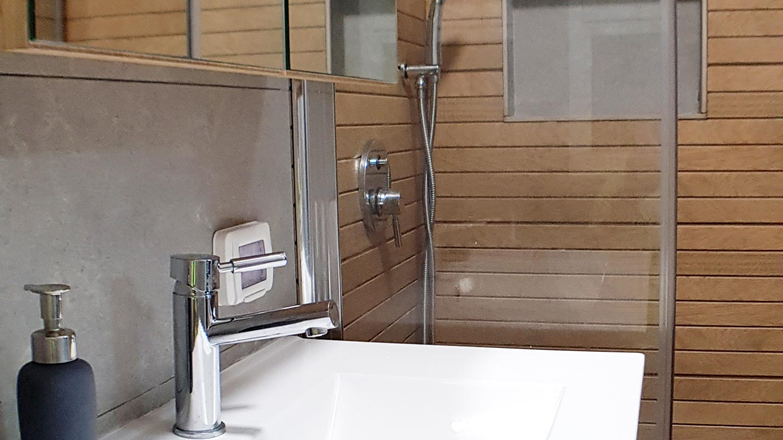 bathroom renovation detail