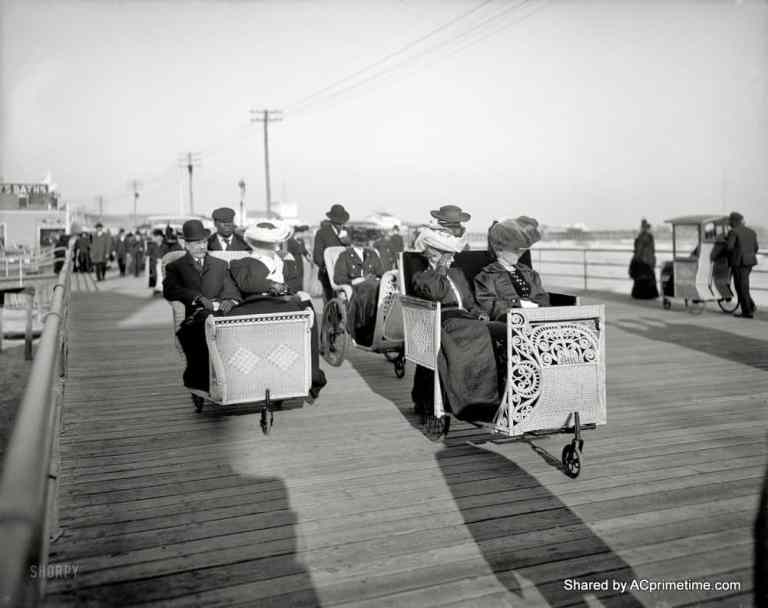 Classic Atlantic City Pictures. Can History Predict Our Future?
