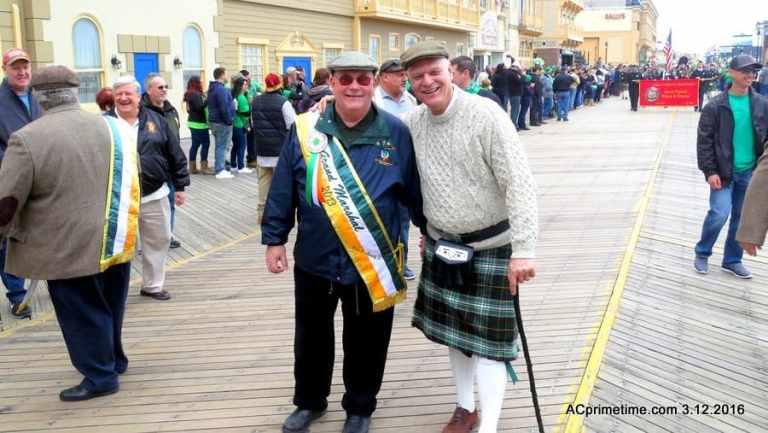 SEE PICS > Saint Patrick's Day Parade on Atlantic City Boardwalk