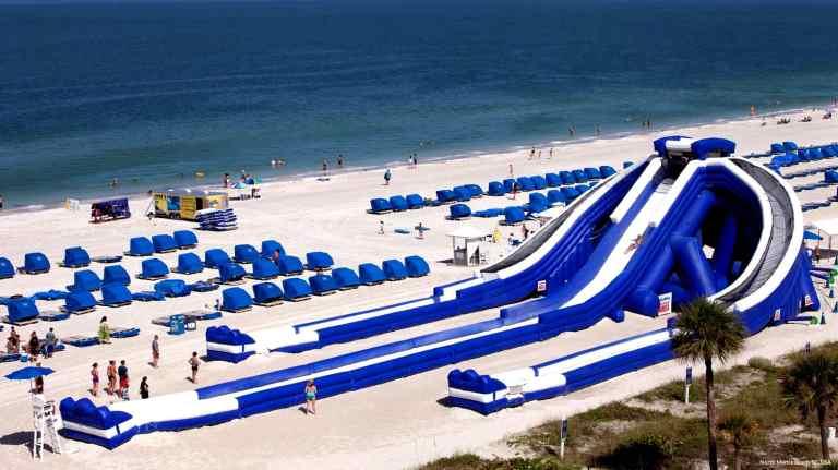 Waterslide Booked For Summer 2017 Atlantic City Beach Fun