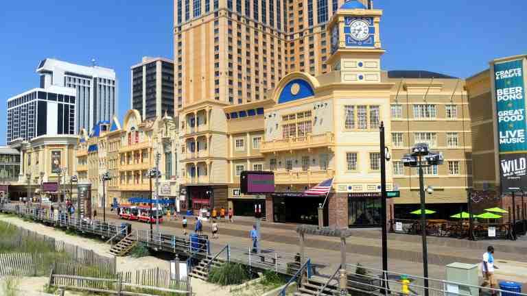 Atlantic City Boardwalk Businesses Pump Up the Volume As Visitors Complain.