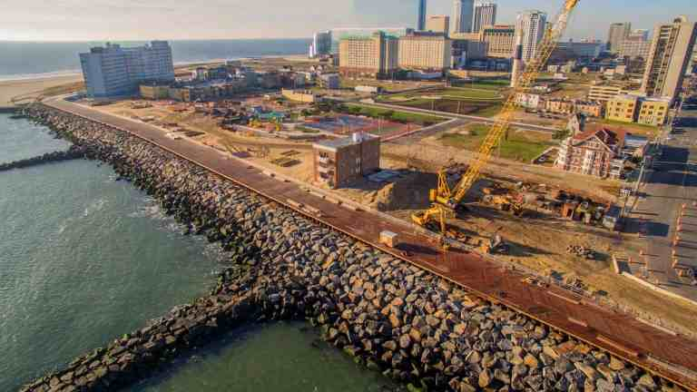 Army Corp of Engineers Superior Work Along Atlantic City Inlet