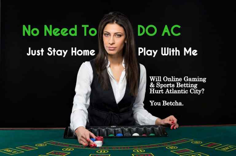Sports Betting & Online Gaming Could Seriously Reduce Visits to Atlantic City