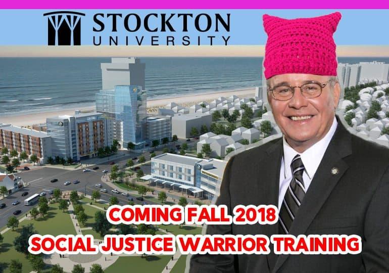 Stockton University Social Justice Warrior