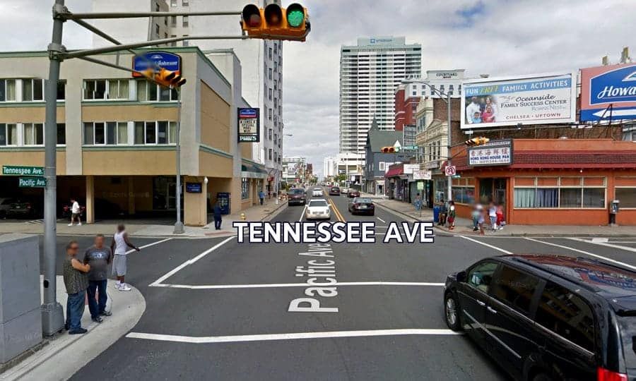 Atlantic City Tourism District Crime Tennessee Ave