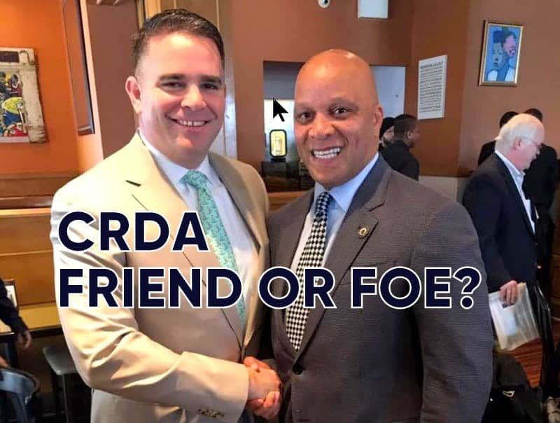 CRDA Chief Doherty & Mayor Gilliam