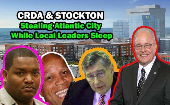 Atlantic City Council Marty Small CRDA Stockton University