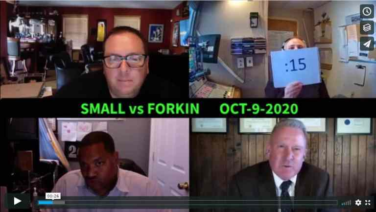 DEBATE VIDEO: Small vs Forkin for Mayor of Atlantic City