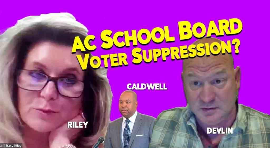 Barry Caldwell, John Devlin, Atlantic City School Board