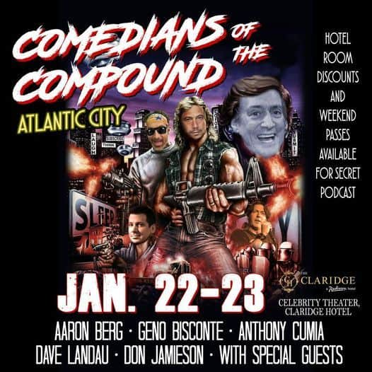 Comedians of the Compound atlantic city