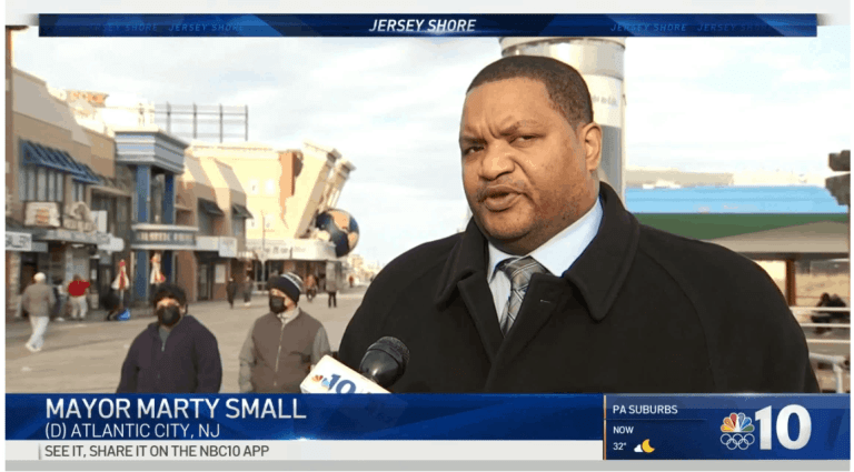 Mayor Small Scrambles as Boardwalk Crime Hurts Atlantic City Rebound