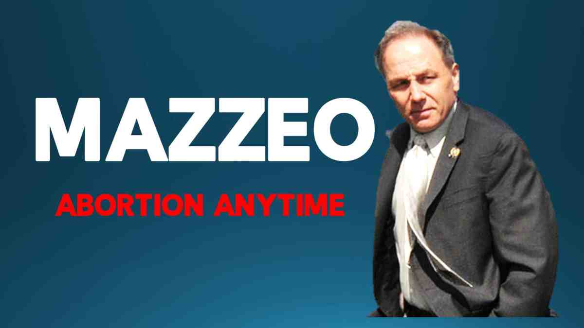 Vince Mazzeo Abortion