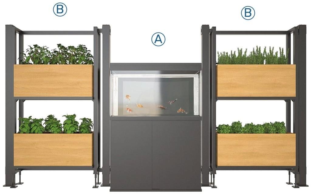 Ponics soluzioni modulari, acquista impianti in acquaponica su Acquaponica.blog
