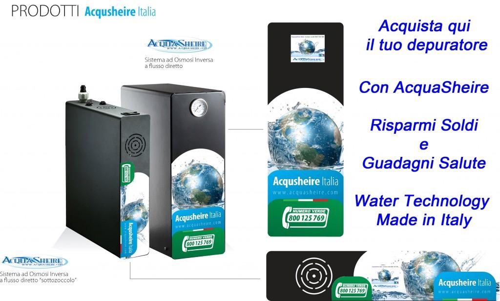 Depuratore acqua depuratori acque depurazione - Depuratore acqua casa prezzo ...