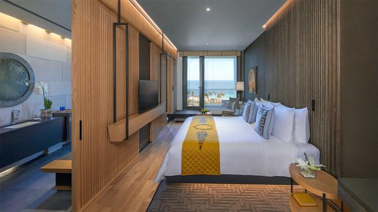Luxurious room at the Caesars Palace Bluewaters Dubai