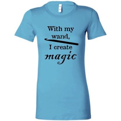 Crochet hook magic wand favorite t-shirt