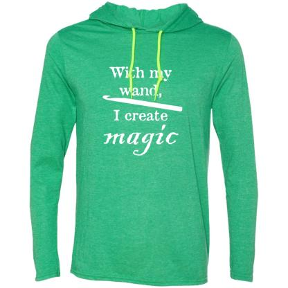 Crochet magic wand long sleeve T-Shirt hoodie