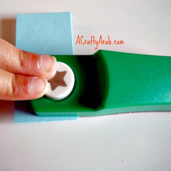 ACraftyArab Curled Star Eid Gift Tag7