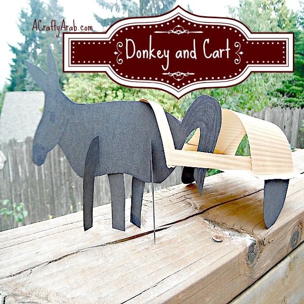 ACraftyArab Donkey And Cart Tutorial