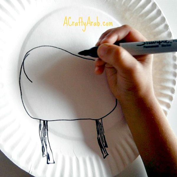 A Crafty Arab Festive Eid Sheep Tutorial