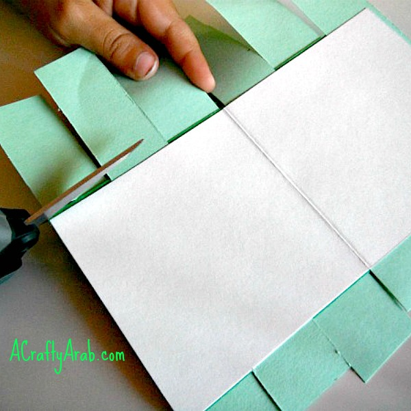 ACraftyArab Ketupat Card Tutorial