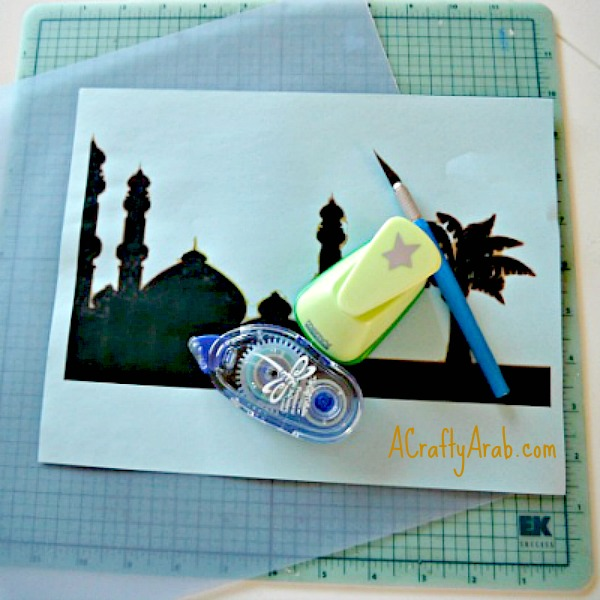 A Crafty Arab Mosque Night Light Tutorial