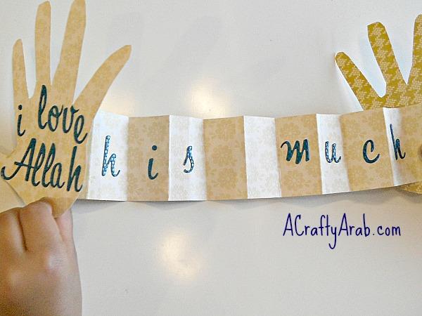 ACraftyArab I love Allah card7