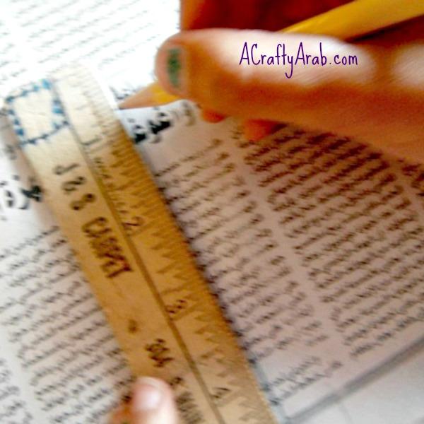 ACraftyArab Arabic Newspaper Star Tutorial